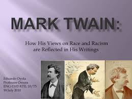 is mark twain a racist Adventures of huckleberry finn (or, in more recent editions, the adventures of huckleberry finn) is a novel by mark twain, first published in the united kingdom in december 1884 and in the united states in february 1885.