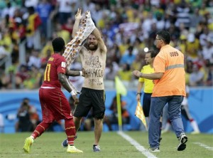 Racist incidents plague World Cup. Photo Credit: The Associated Press