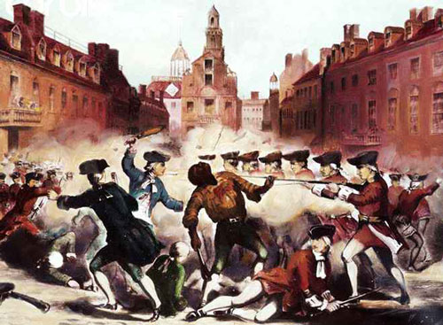 the importance of the boston massacre as the first battle of the revolutionary war You probably know the boston massacre to be an event in which british mla format for referencing revolutionary-warnet: last name, first revolutionary-war.
